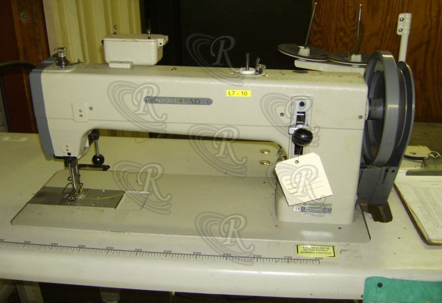 Industrial Sewing Machines Long Arm Lockstitch HIGHLEAD GA Mesmerizing Highlead Sewing Machines