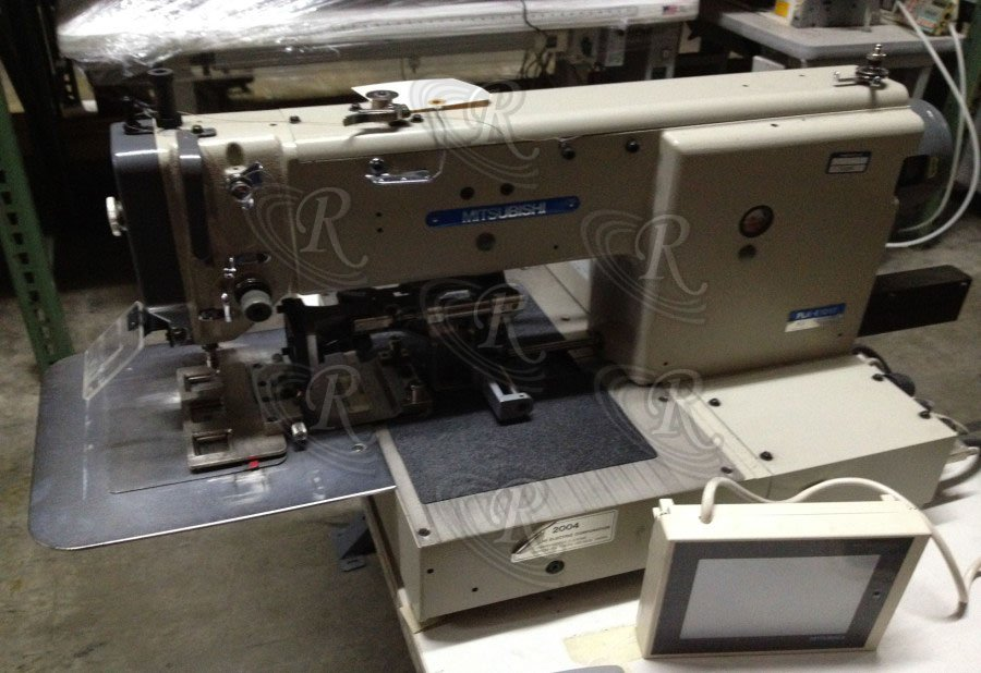 Industrial Sewing Machines Programmable Pattern Sewers Interesting Mitsubishi Sewing Machine For Sale